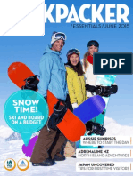 Backpacker Essentials JUNE 2015 ISSUE