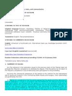 Decizie 3 Incoterms 1990 CIP Delivery