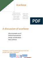 acarbose presentation