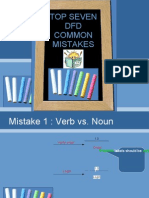 DFD Common Mistake