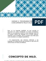 IV.- Programacion Concurrente