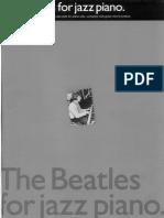 Beatles for Jazz Piano