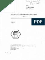 Pakistan Wheat Standards PS 3747-1996