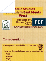 Aisha Sherazi 2006 - An Integrated Islamic Studies Curriculum