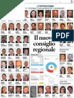 ELEZIONI IN VENETO - Il nuovo Consiglio regionale