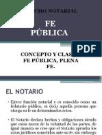 La Fe Publica