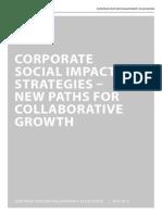 EVPA-Corporate Social Impact Strategies