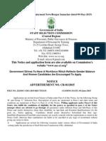Advt_CR012015 Alongwith Instructions_ENGLISH Final