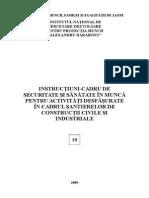 Instructiuni-cadru Ssm Pentru Santiere de Constructii Civile Si Industriale - 19