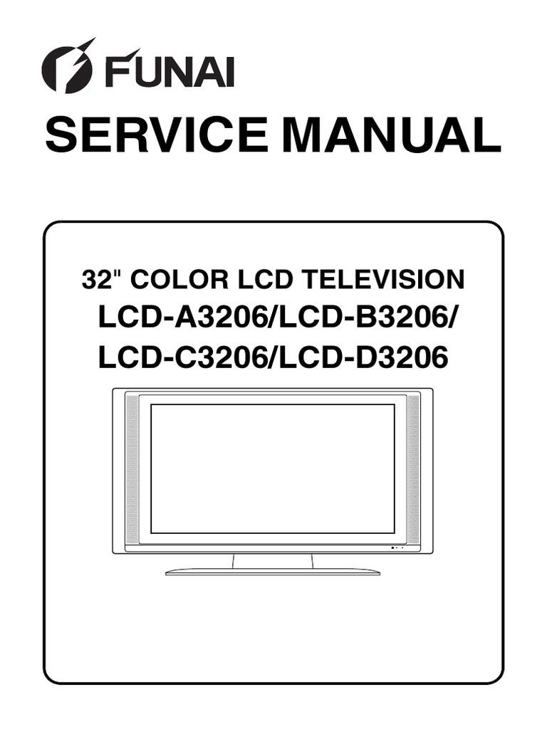 Funai = LCD-A3206_B3206_C3206_D3206(L5920EA_21BB_22FC_23RD