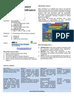 Advance Flow Assurance Engineering Brochure