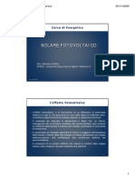 Dispensa Fotovoltaico