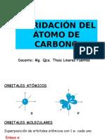 HIBRIDACIONES DEL ATOMO DE CARBONO.ppt