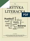 Krytyka Literacka 1 2015