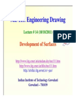 Lecture14 Development of Surfaces - Pkghosh