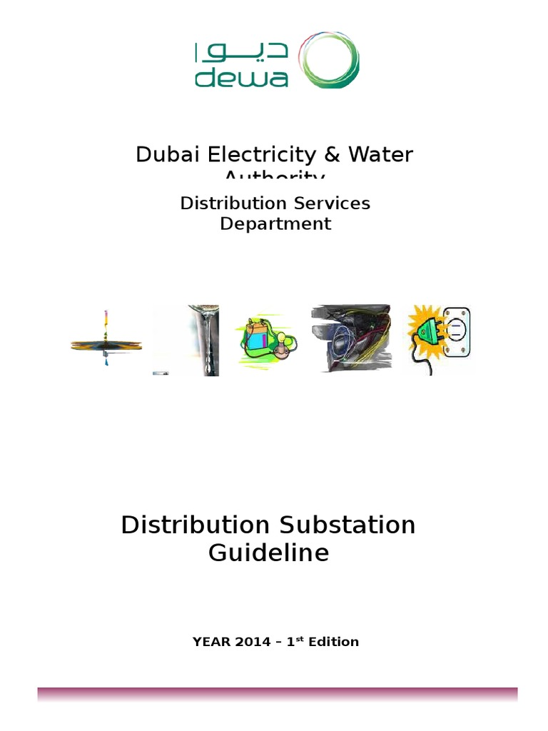 distribution substation guideline dewa simple instruction guide rh firstservicemanual today dewa distribution substation guideline 2008 Transmission Substation