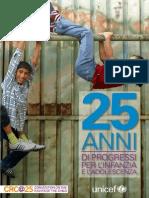 1990-2015 Venticinque anni di progressi per l'Infanzia e l'Adolescenza