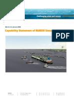 Capability Statement of MARIN Simulators
