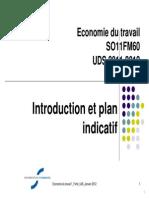 Economie Du Travail Introduction