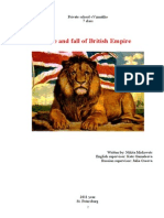 Rise and Fall of British Empire