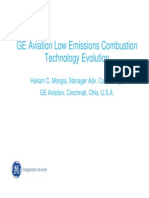 GE Aviation Low Emissions Combustion Technology Evolution