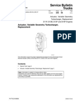Actuator Variable Geometry Turbocharger Replacement