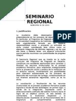 Seminario Regional Unificado