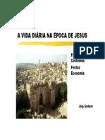 A Vida Diária Na Época de Jesus - Jorg Garbers