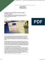 Studie - Warum Die Griechen Mit Deutsch Weniger Schulden Hätten - FAZ
