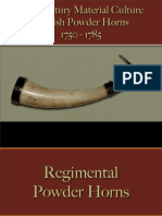 Military - Arms & Accoutrements - Powder Horns English