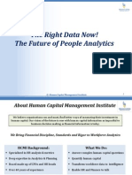 The Right Data Now the Future of People Analytics May 2015