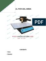 3050A Manual