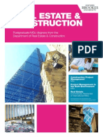 PG Real Estate and Construction Brochure