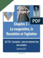Chapitre 3 -Coagulation - Floculation