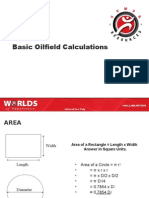 Basic Oilfield Calculations
