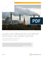 Global 500 Greenhouse Gas Report