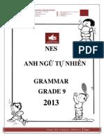 Basic Grammar Grade 9