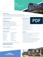 Lend Lease Americas Fact Sheet March 2015