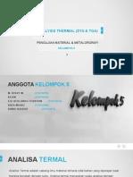 Analys Thermal (DTA & TGA)