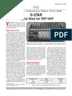 D-STAR For VHF UHF