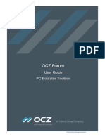 OCZ SSD PC Bootable Toolbox Guide