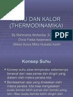 Suhu Dan Kalor (Thermodinamika)