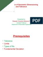 GD&T Presentation by Deepak
