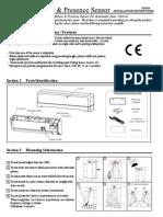 Takex DA101S Installation Manual