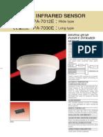 Takex PA-7012E Data Sheet