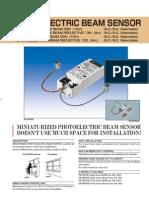 Takex PB-4RNS Data Sheet