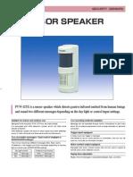 Takex PVW-12TE Data Sheet