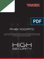 Takex PXB-100ATC Data Sheet