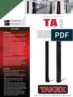 Takex TAD-150 Data Sheet