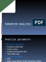 Parameter kualitas batubara.ppt